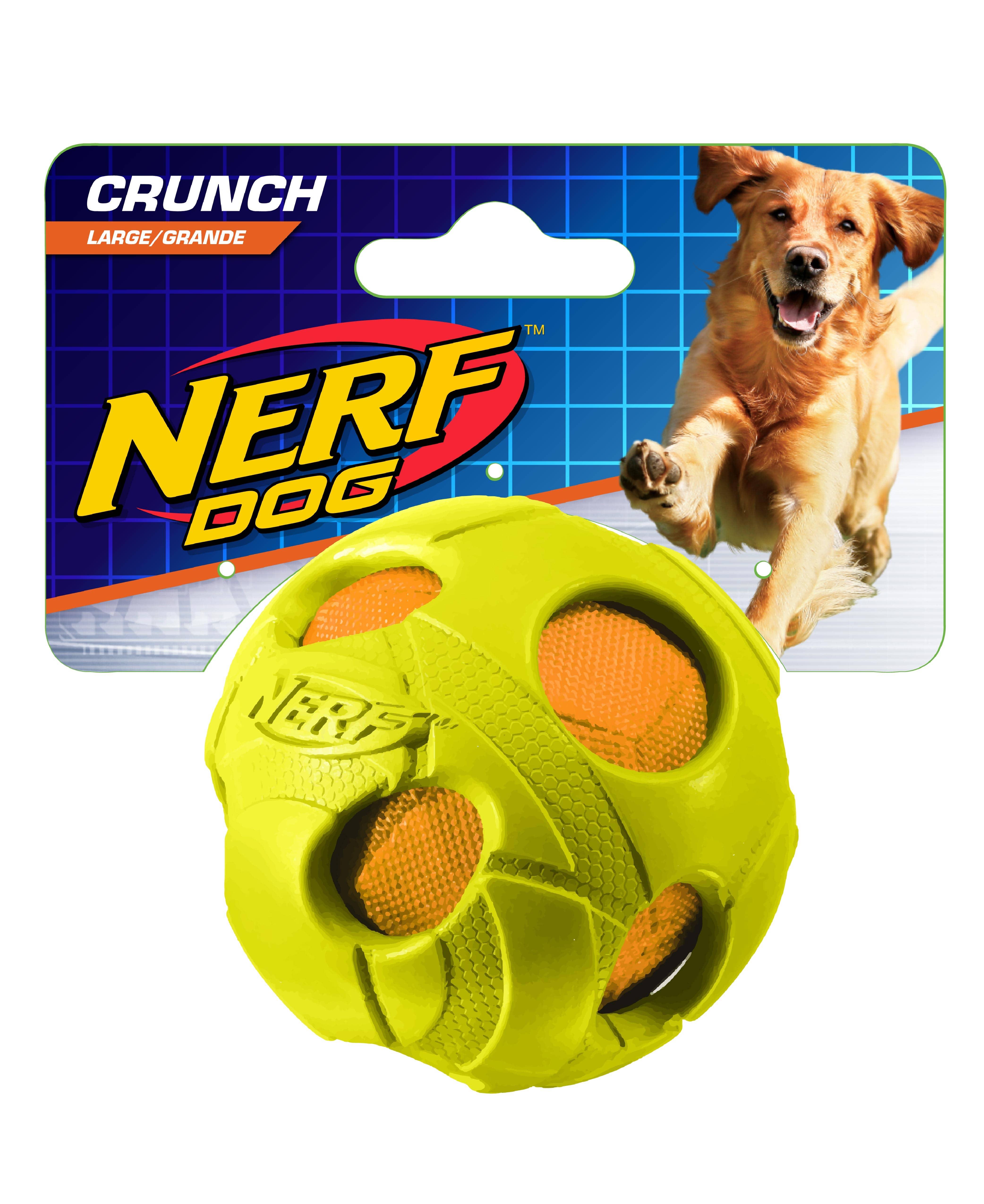 Nerf Dog 2.5in Bash Crunch Ball Green