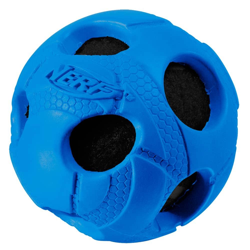 Nerf Dog Medium Rubber Wrapped Bash Tennis Ball Nerf Dog
